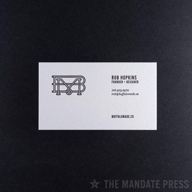 Clean 10 for buffalomadeco     letterpressisourbusiness letterpresshellip