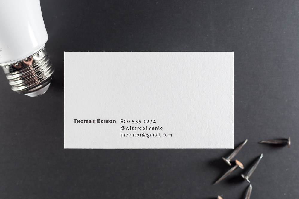 The best price in town for letterpress actually yes the mandate we actually spent the last month shopping our competition and our online templates remain to be the lowest cost letterpress business cards available reheart Choice Image